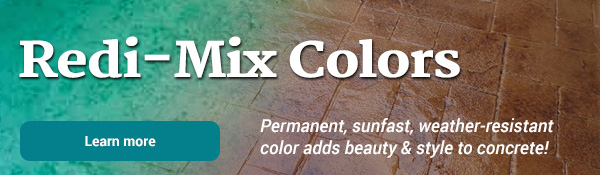 Redi-Mix Colors